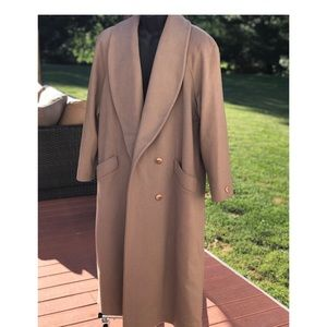 Charles Klein Fawn Colored Peacoat